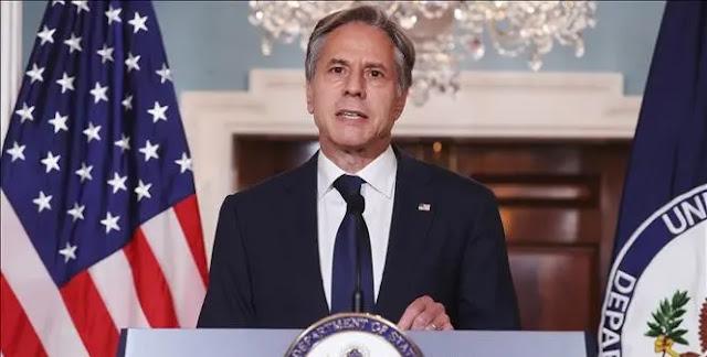US Secretary of State Antony Blinken speaks in Washington, DC, August 30, 2021. Photo: AFP