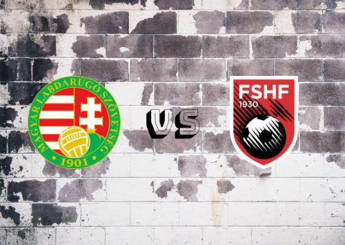 Hungría vs Albania  Resumen