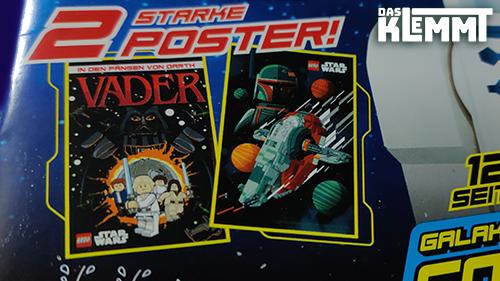 2 galaktische Poster im DIN-A3 Format