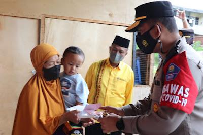Kapolres Aceh Tengah Tiap Minggu Lakukan Jumat Berkah