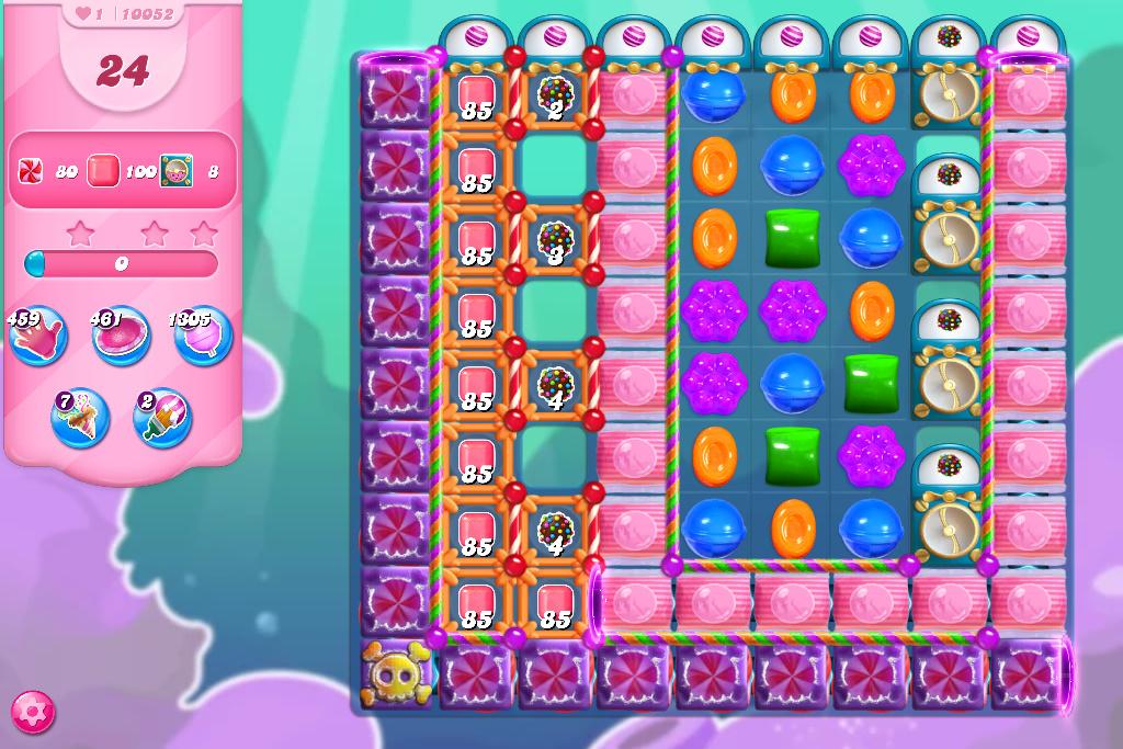 Candy Crush Saga level 10052
