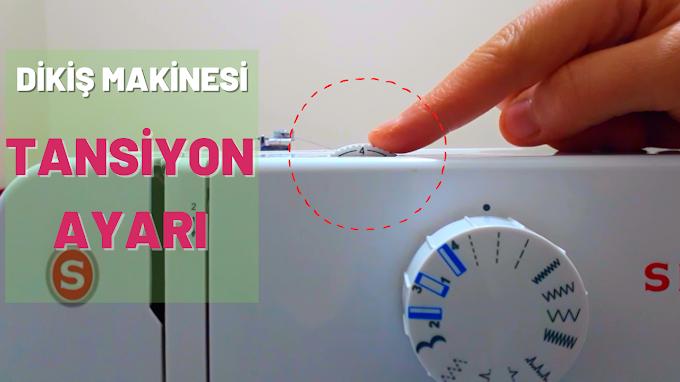 Dikiş makinesi TANSİYON AYARI nasıl yapılır? /A101 Singer dikiş makinesi /  Dikiş dersleri / Evde dikiş