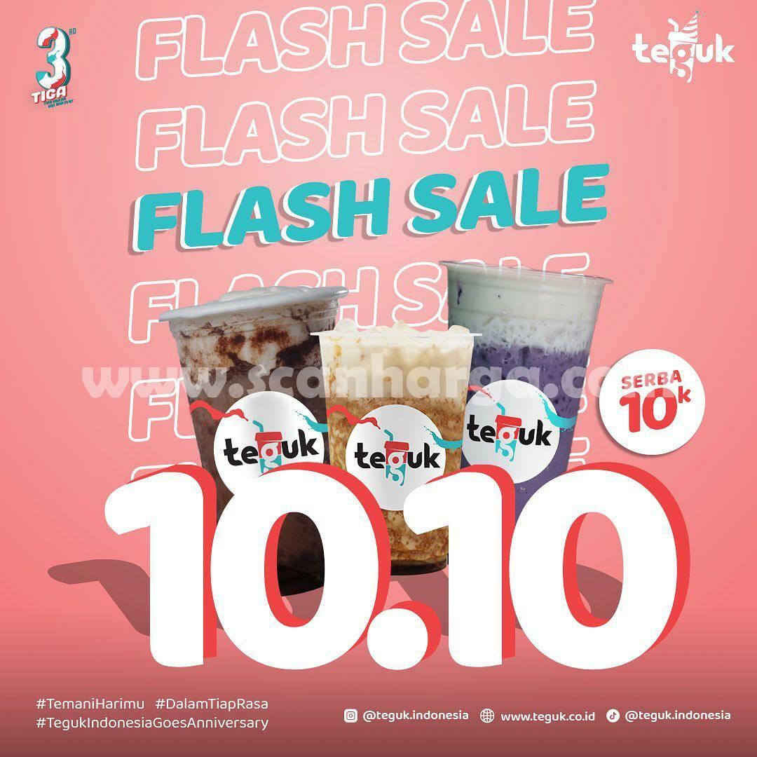 TEGUK Promo Flash Sale 10.10 Serba Rp. 10.000