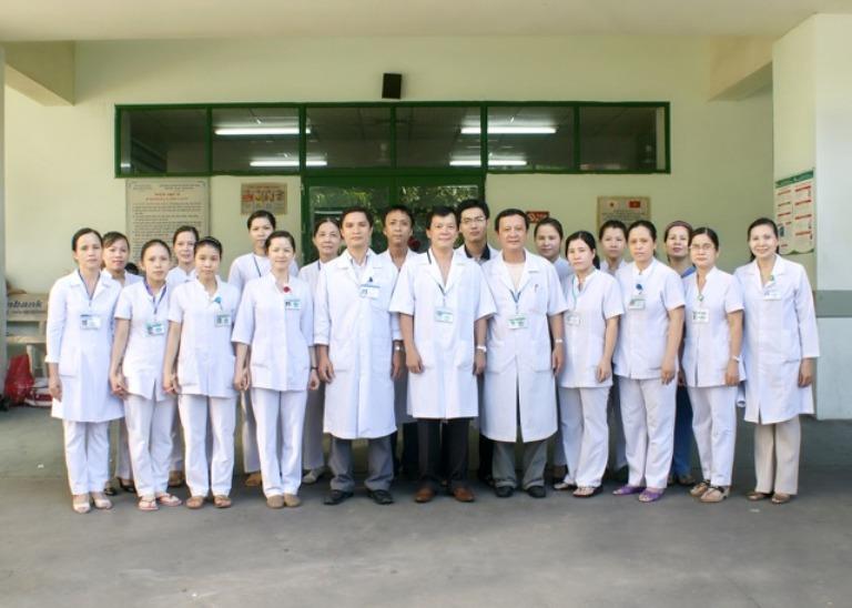 Nhân viên y tế tại Bệnh Viện Đa Khoa Đà Nẵng