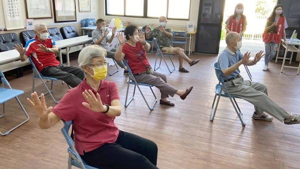 中彰榮家辦理體適能檢測 鼓勵長輩運動延緩失能