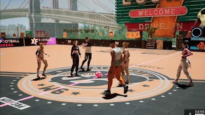 XF: Football Arena novo game Mobile