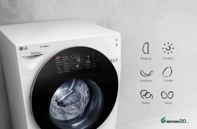 LG 6 Motion Direct Drive Technology