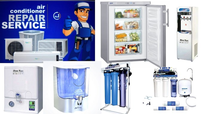 Your  Air Conditioner  Freeze water purifier are always ready to provide reliable and quality service of all products. And with 7 days service warranty.