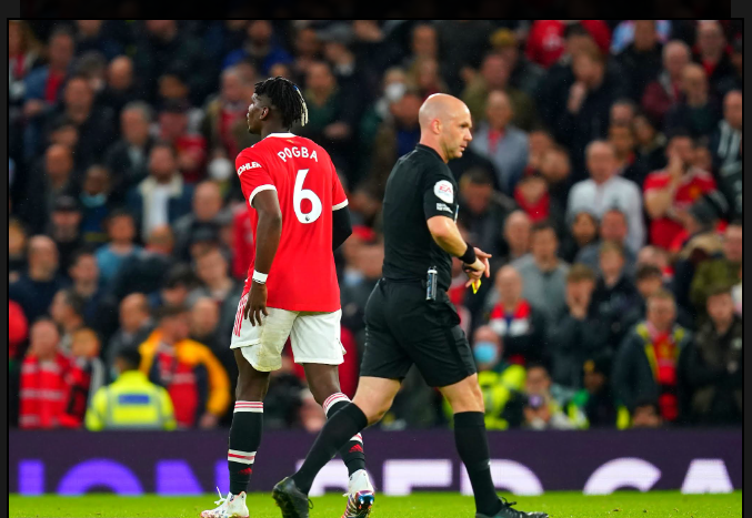 After receiving a red card against Liverpool, Scholes slams Manchester United star Paul Pogba.