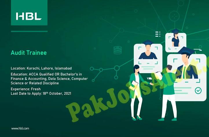 Habib Bank Limited HBL Latest  Jobs 2021 Apply Online