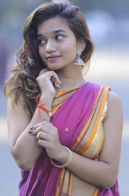 खूबसूरत लड़की का फोटो