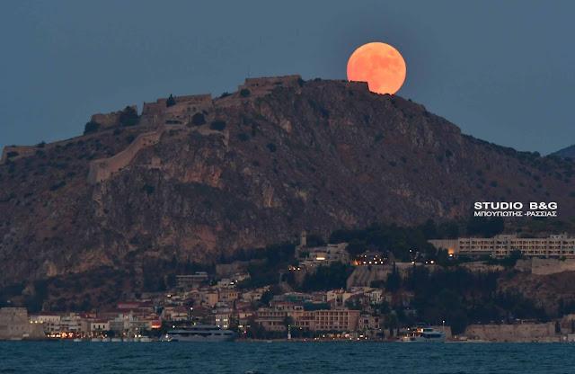 Σειρά αστρονομικών φαινομένων φέρνει η Πανσέληνος του Οκτωβρίου