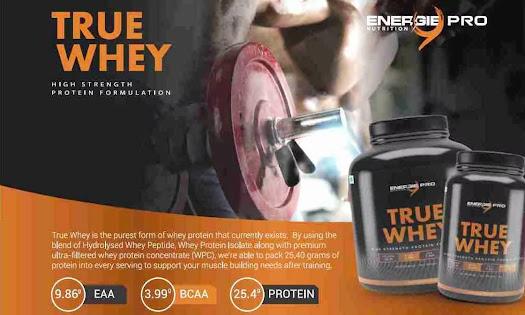 Energie9 True Whey full details