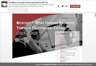 CloudWorms PDF Viewer's new button design