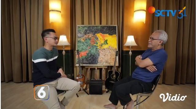 Beli Lukisan Karya Iwan Fals Rp. 500 Juta, Begini Alasan Sandiaga Uno