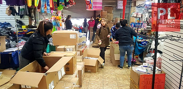 Desalojan a locatarios del centro de la ciudad de Osorno