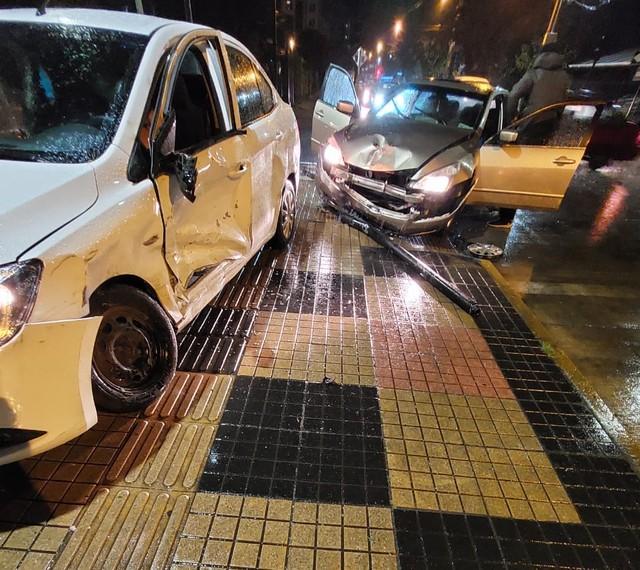 Osorno: accidente de tránsito deja tres lesionados