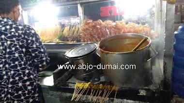 Sate Masakan Padang Area Jalan Budi Kemulian Dumai