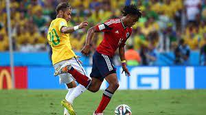 موعد مباراة البرازيل وكولومبيا في تصفيات كأس العالم
