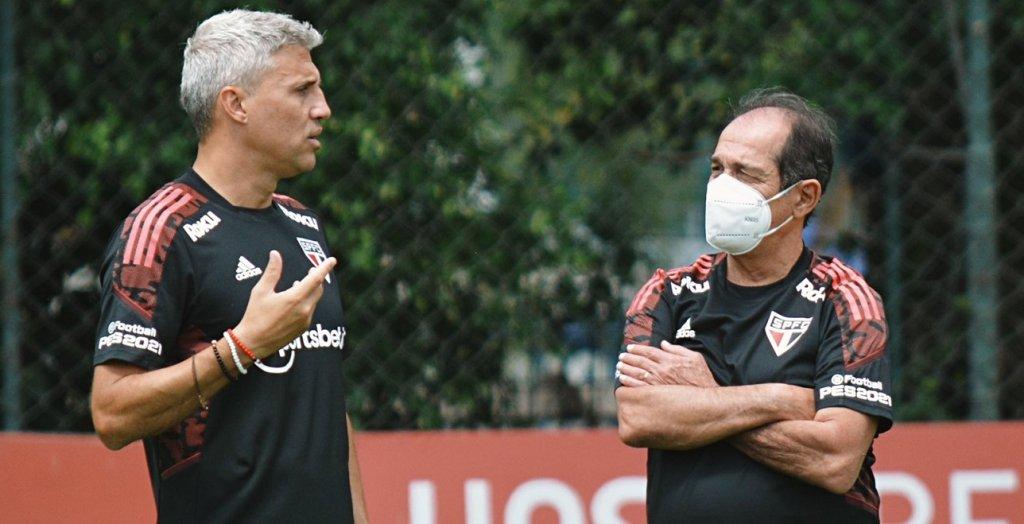 Muricy fala sobre situação de Benítez no São Paulo e ainda acredita em vaga na Libertadores