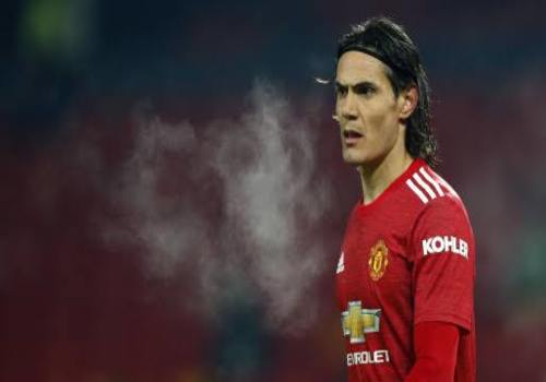 Cavani has been told to leave Manchester United in January because of Ronaldo.