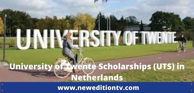 University of Twente Scholarships (UTS) in Netherlands