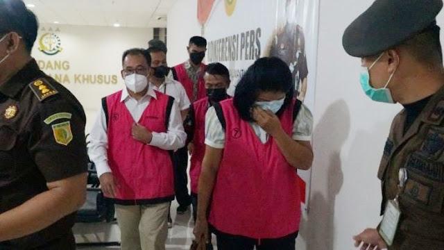 Korupsi Dana Hibah Gereja di Sintang, Pendeta, Anggota DPRD dan PNS Ditahan Kejaksaan