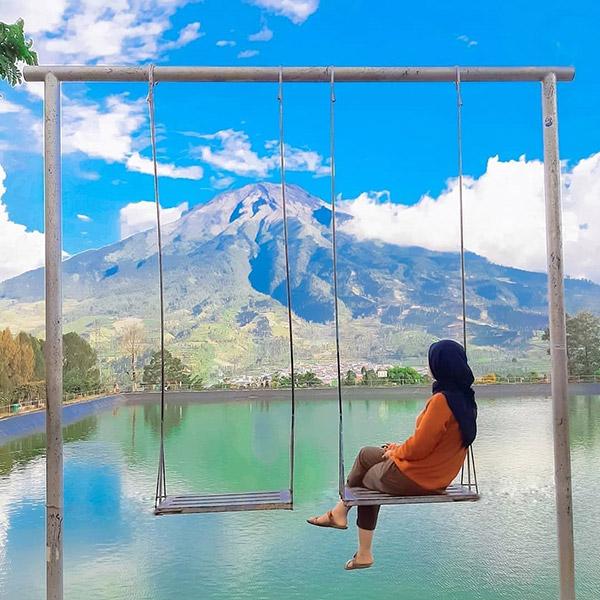 Saking Indahnya, Embung Kledung Disebut Mirip Danau Kawaguchi Loh