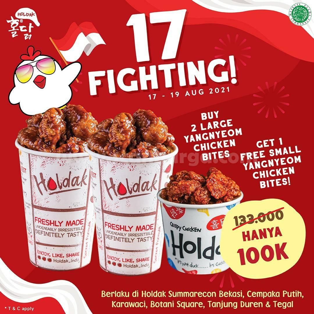 Holdak Promo 17 Fighting - Beli 1 Gratis 1