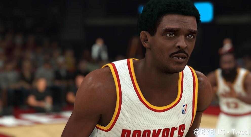 NBA 2K22 Ralph Sampson  Cyberface and Body Model by TWEAL