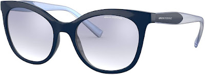 Navy Blue Authentic Armani Cat Eye Sunglasses