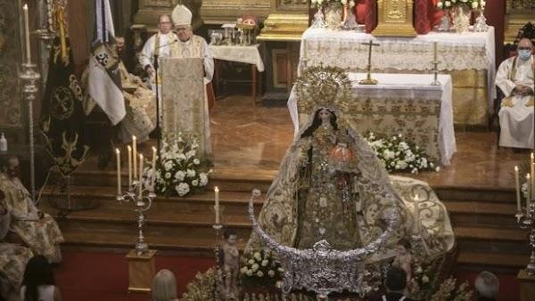 Horario e Itineraio Rosario Vespertino de la Virgen delCarmenCoronada. Córdoba 01 de Noviembre del 2021