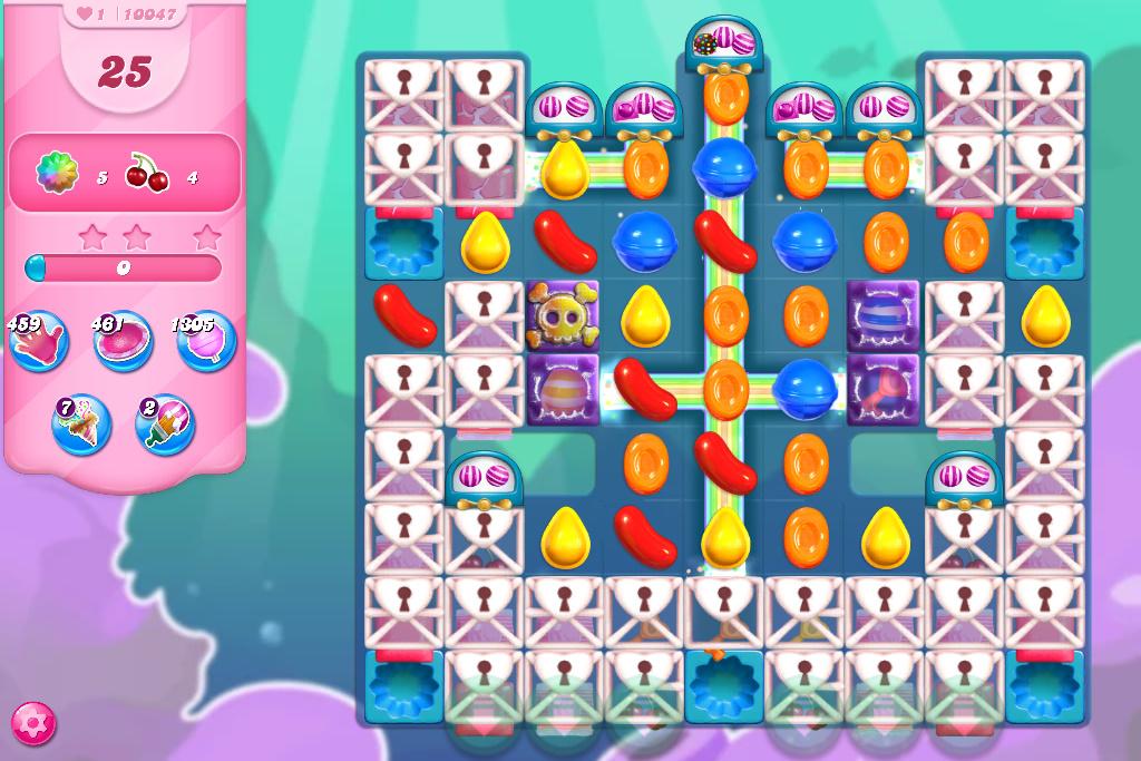 Candy Crush Saga level 10047