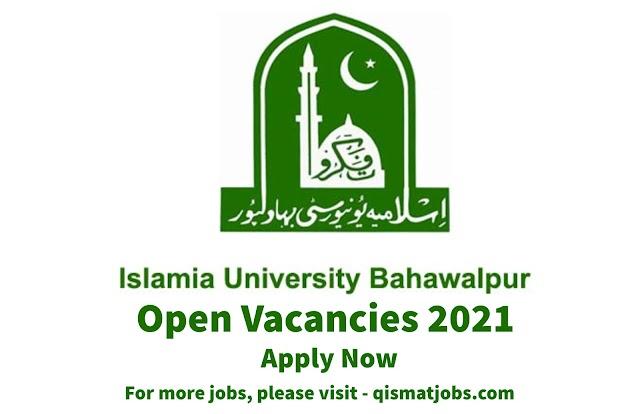 Islamia University of Bahawalpur Vacancies Available 2021   Teaching Job