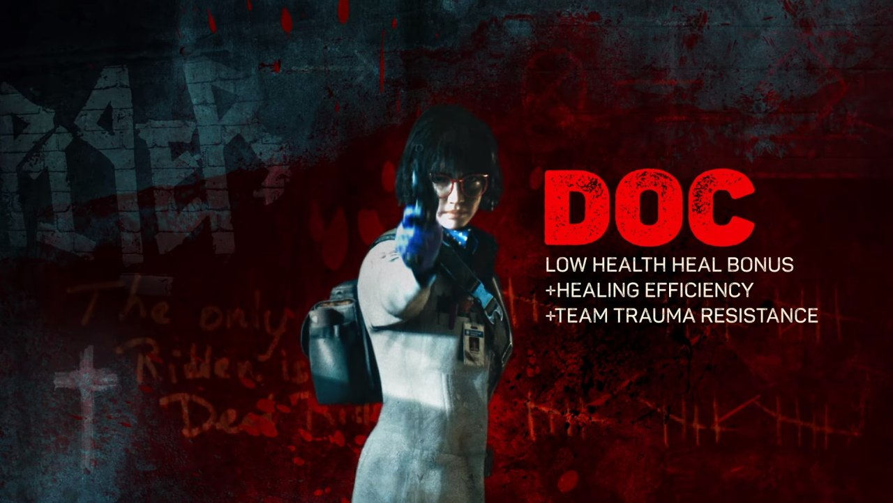 Doc is the squad's doctor.