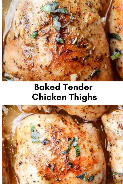 Baked Tender Chicken Thighs Recipe