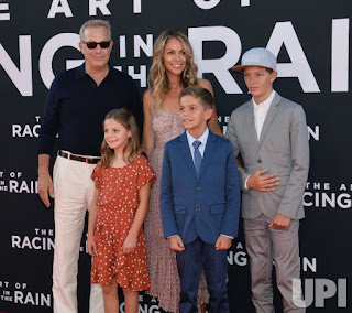 Picture of Cayden Wyatt Costner with his family