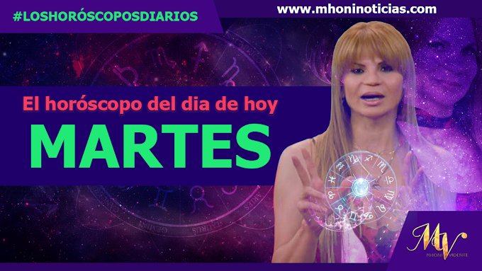 Los horóscopos del MARTES 05 de OCTUBRE del 2021 - Mhoni Vidente