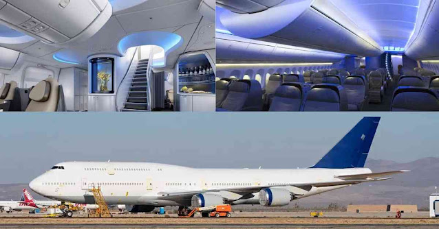 Most Luxurious Private Planes In The World - Boeing 747-8 - Moniedism
