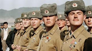 Russische Soldaten in Afghanistan