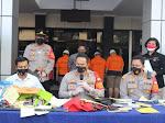 Tangkap Pelaku Curanmor, Polrestro Bekasi Kota Sita 25 Unit Sepeda Motor
