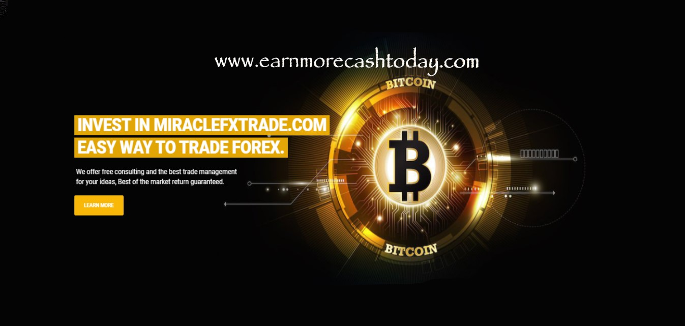 Miraclefxtrade Review : Is It Scam Or Legit