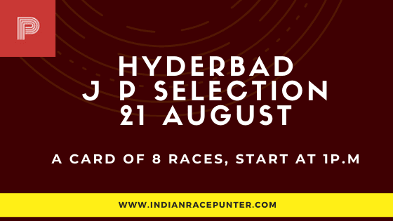 Hyderabad Jackpot Selections 21 August