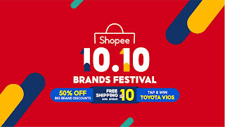 10 Mouth-watering ShopeePay Deals at This 10.10 Brands Festival!