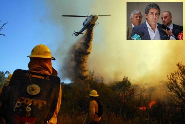 Diputado Santana preocupado por incendios forestales