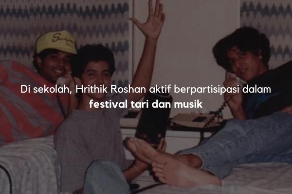 Hrithik Roshan bersekolah di Bombay Scottish School