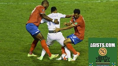 The Costa Rican has a strong defense against Honduras