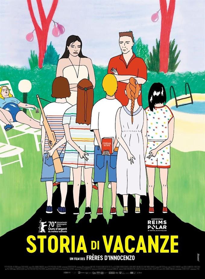 """Mercredi 13 octobre 2021 : Sortie en salle du film """"Storia di vacanze"""""""