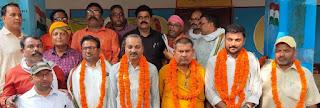 अरूण कुमार सिंह अध्यक्ष, प्रमोद दूबे मंत्री मनोनीत  | #NayaSaberaNetwork