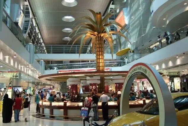 Dubai International Airport , United Arab Emirates
